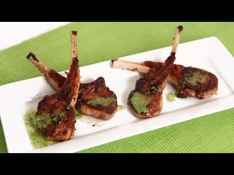Grilled Lamb Chops Recipe - Laura Vitale - Laura in the Kitchen Episode 590