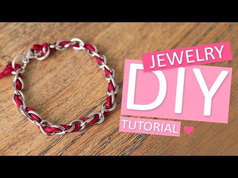 DIY Tutorial – Armbänder mit Griffin und Jasseron – Selbst Schmuck machen