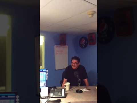 Norm's interview on 102.9 FM at The Pas