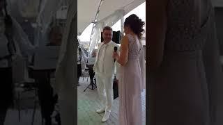 Наргиз и Фадеев в исполнении жениха и невесты.