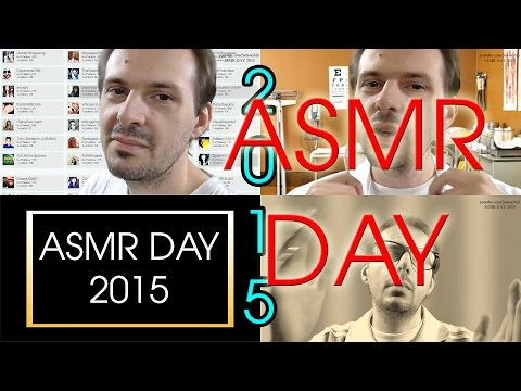 ASMR Day - Video Dedicated for ASMR Community (Artists, Watchers, Creators)