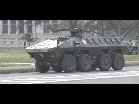 New Serbian Weapons 2015   8x8 Lazar 2 500HP Armored Combat Vehicle