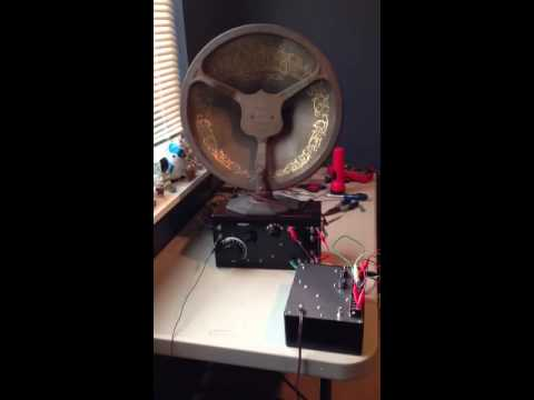 Crosley 51 and Crosley Musicone Speaker