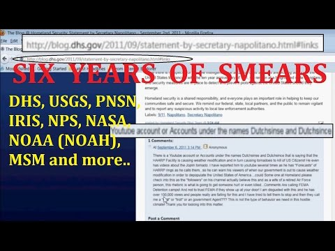 3/19/2016 -- SIX YEARS of Dutchsinse Smears -- From the DHS, USGS, PNSN, NPS, NASA, NOAA, MSM etc..