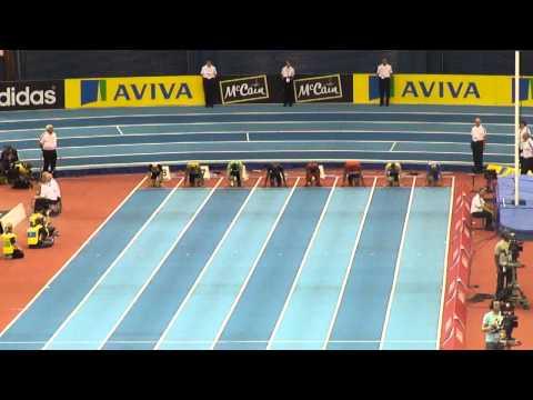 Mens 60 meters - heat 1 - Aviva Grand Prix 2011