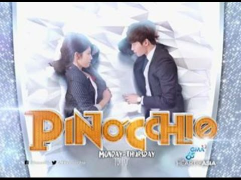 Pinocchio❤️ on GMA-7 Theme Song