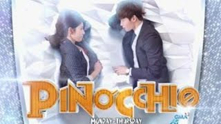 "Pinocchio❤ on GMA-7 Theme Song ""Pwede Ba"" 3logy MV with lyrics"