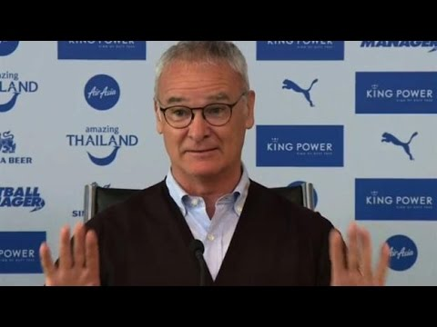 CRAZY Claudio Ranieri Press Conference - Dilly Ding Dilly Dong! - Targeting Premier League Title