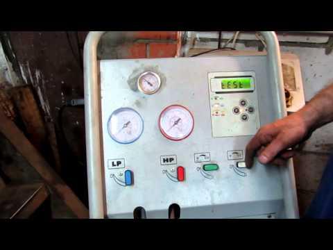 Заправка кондиционера и замена трубки высокого давления