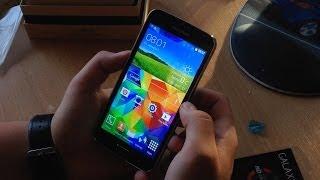 Распаковка копии Samsung Galaxy S5 с Aliexpress за 160.