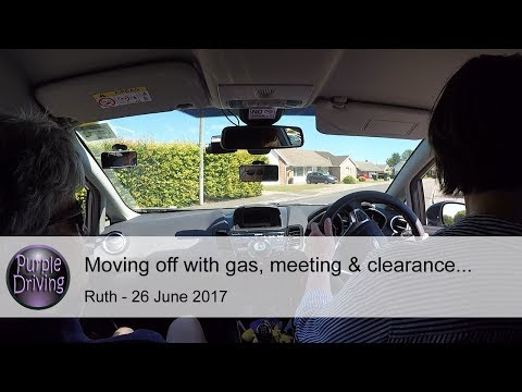 Moving off with gas & meeting & clearance. Ruth, 26/6/2017