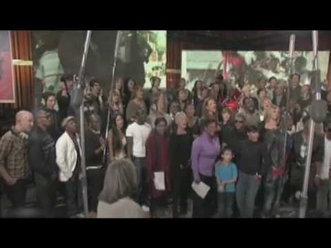 """We Are The World"" 25 For Haiti- Behind The Scenes Part 1 And 2"
