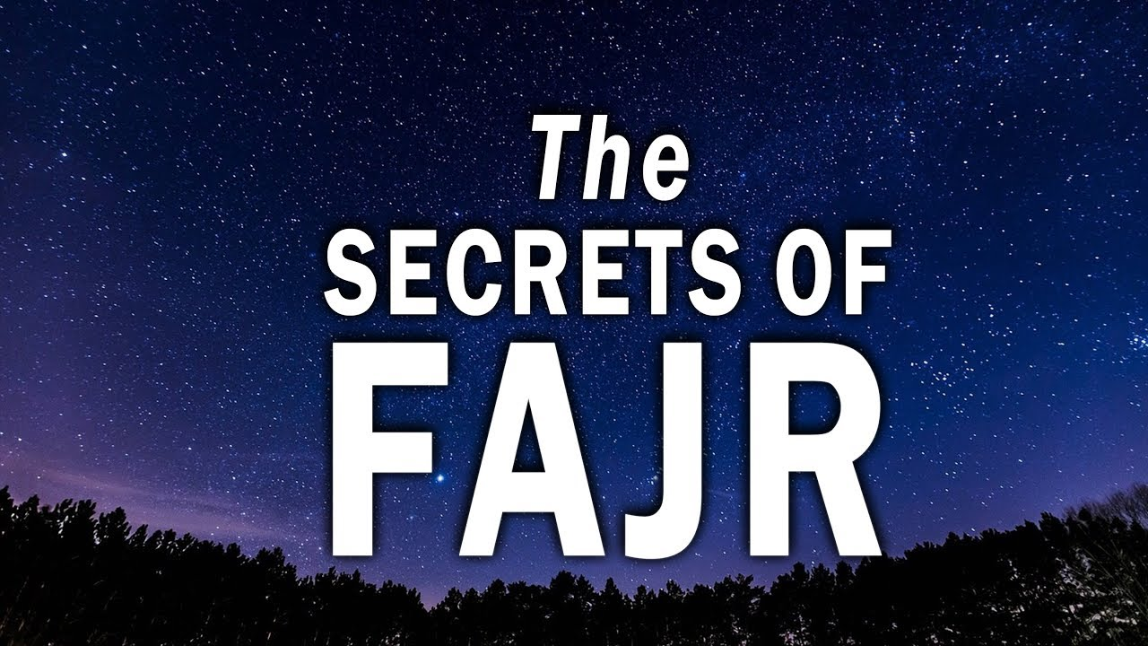 This Is Why You Should Pray FAJR | Secrets About Fajr Prayer