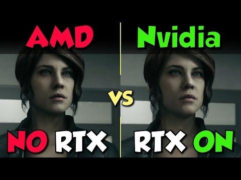 Nvidia (Ray Tracing On) Vs. AMD (No Thanks)