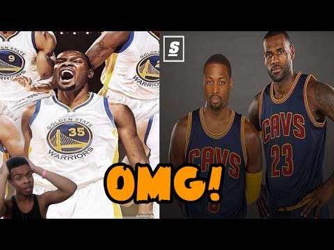 Kevin Durant Signs With Golden State Warriors! Dwyane Wade to Cleveland with LeBron RANT/REACTION