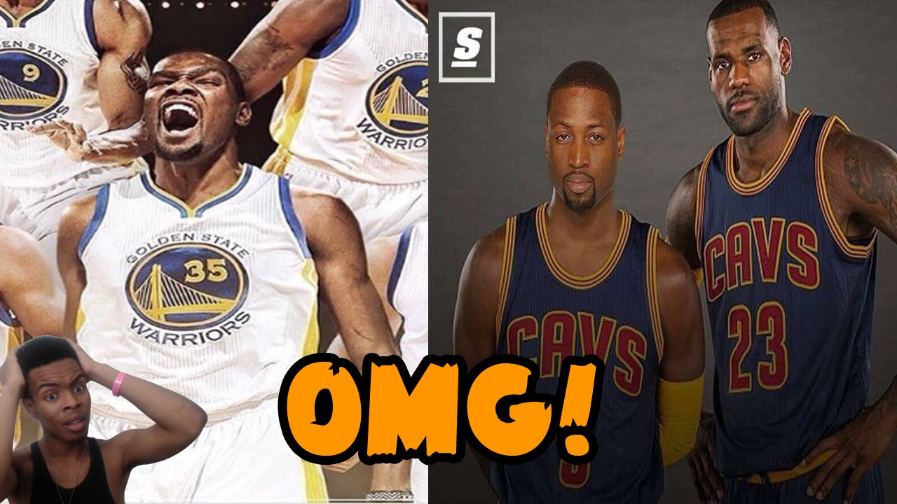 2fb8e8b47f7a Kevin Durant Signs With Golden State Warriors! Dwyane Wade to Cleveland  with LeBron RANT REACTION - YouTube