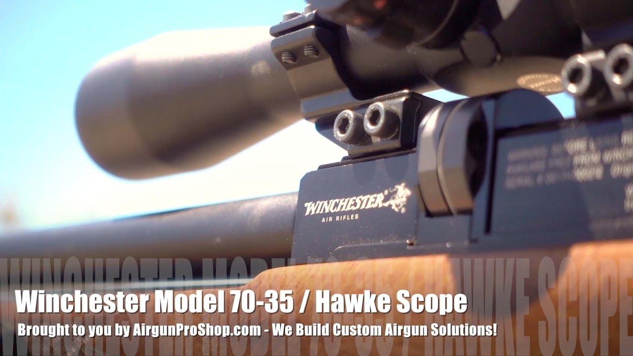 Winchester Model 70-35 Big Bore PCP,  35 Caliber Airgun! now available at  www AirgunProShop com