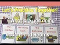 Card Game | At Home | Actions and Rooms | 17 | English Speaking Practice | ESL | EFL | ELL