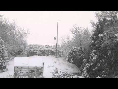 snow on 4th Feb 2015