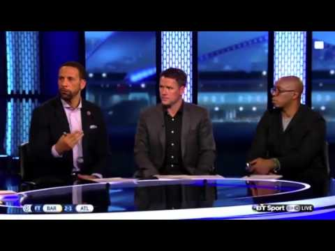 Rio Ferdinand believes Fernando Torres let his team-mates down with his red card at the Camp Nou#