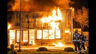Fietsenwinkel Hoekstra Wheels brand volledig uit door zeer grote brand Torenvlietslaan Valkenburg