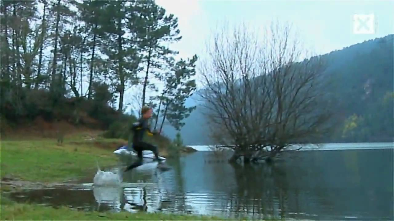 Walk on water (Liquid Mountaineering) - YouTube