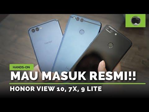 Hands-on Honor View 10, 7X, 9 Lite | RESMI DI INDONESIA! thumbnail