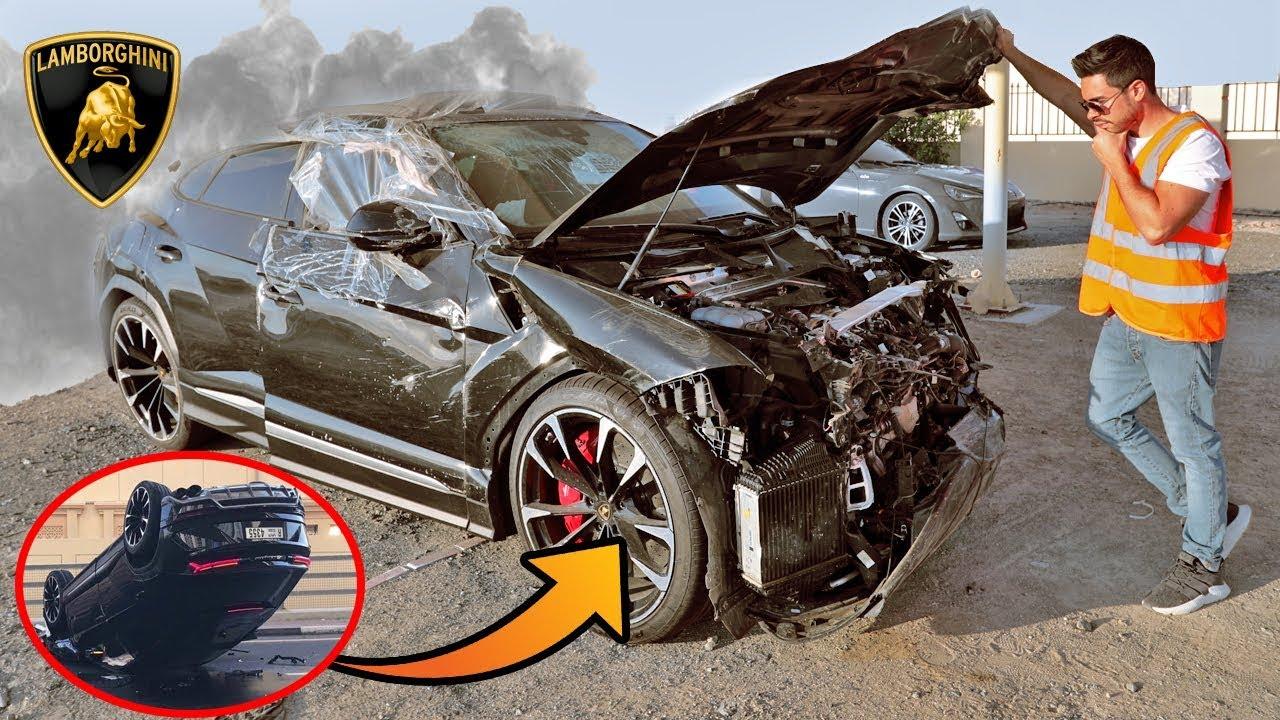Carros En Venta Baratos >> COMO COMPRAR SUPER AUTOS ACCIDENTADOS EN DUBAI | LAMBORGHINI URUS 2019 - YouTube