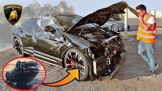 COMO COMPRAR SUPER AUTOS ACCIDENTADOS EN DUBAI | LAMBORGHINI URUS 2019
