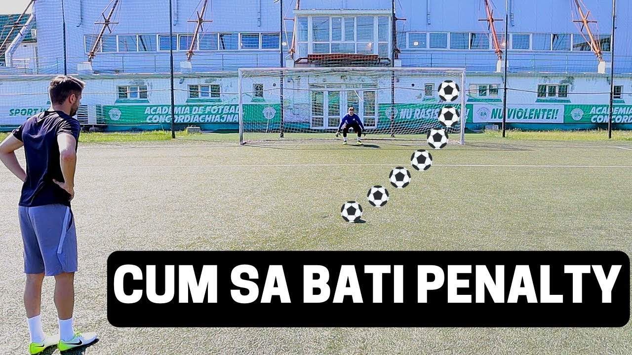 CUM SA BATI PENALTY LA FOTBAL | TOP 5 LUCRURI DE STIUT | IMPROVED FOOTBALL