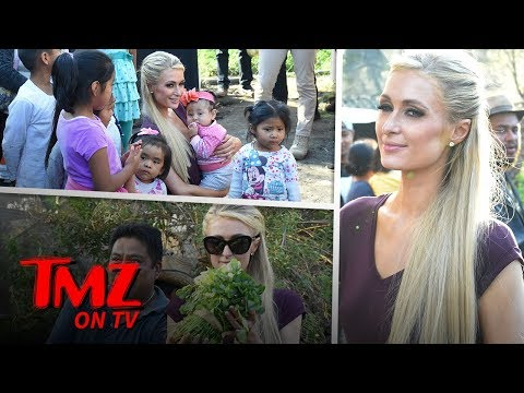 Paris Hilton Is A Humanitarian  TMZ TV