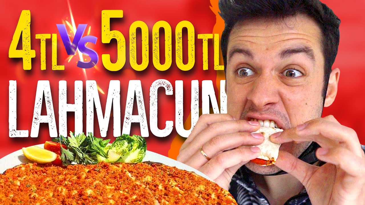 4TL Lahmacun vs. 5.000TL Lahmacun! (#SonradanGörme)