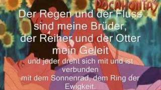 Das Farbenspiel des Winds (Colors of the Wind- German Pop)