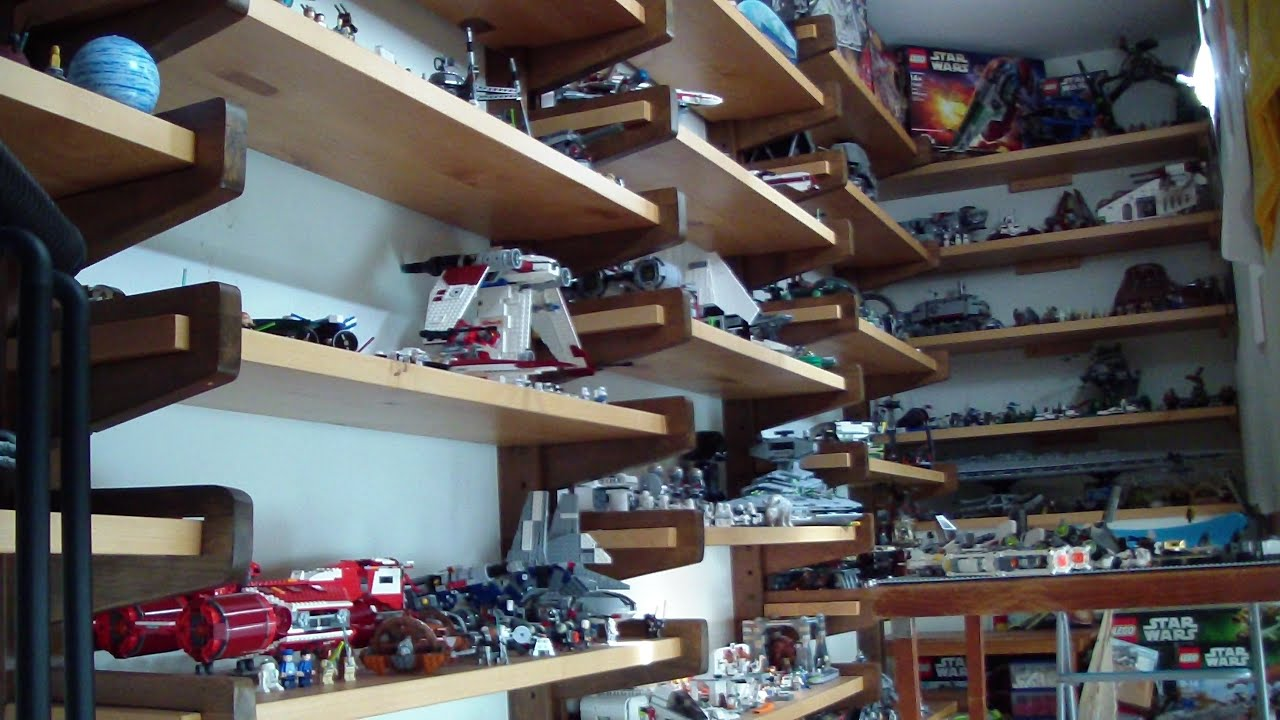 lego room tour lego star wars collection youtube