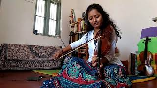 Kagadada Doniyalli | Kirik Party(2016) | Violin Cover