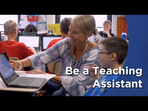 Be A Teaching Assistant