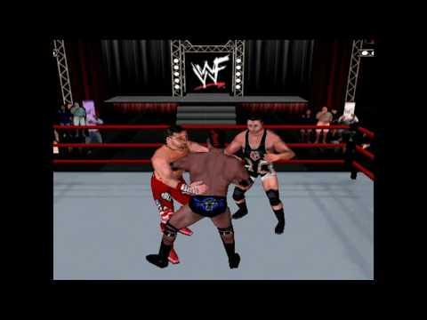 WWF: Attitude Sims - Owen Hart vs Shawn Michaels vs The Rock