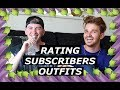 Rating Subscribers Outfits ft. Drew | Male Fashion Bloggers | Gallucks