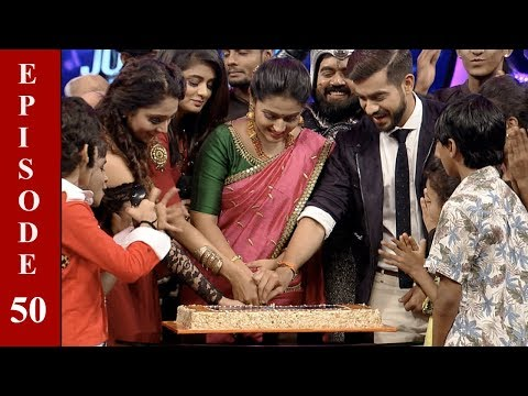 D4 Junior Vs Senior I Ep 50 - Celebration of 50th episode...! l I Mazhavil Manorama