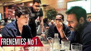Shahrukh Khan & Ajay Devgan | Bollywood's Frenemies No.1 | Chuddy Buddy Special