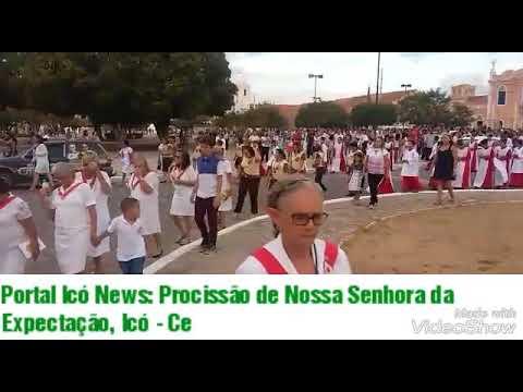 Portal Icó News: Procissão de Nossa Senhora da Expectação Icó -CE
