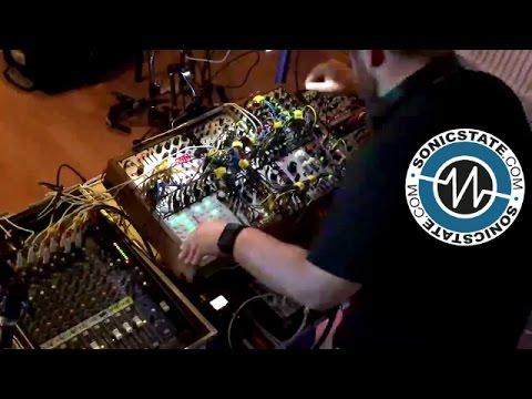 VCOADSR Live Techno  at Cymru Beats 2016
