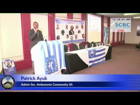 Free Ambazonia Press Conference - Johannesburg, South Africa