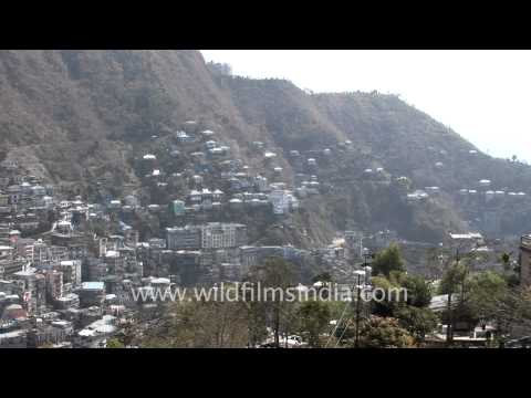 Aizawl from Tourist lodge's point of view