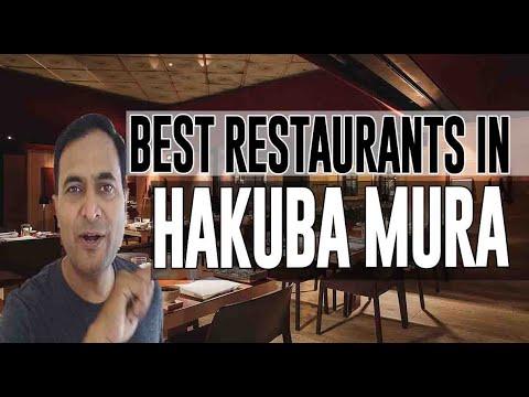 Best Restaurants And Places To Eat In Hakuba Mura, Japan