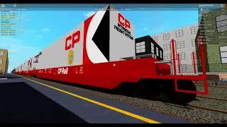 ROBLOX Auf der Jagd nach dem Conrail Manifest Zug