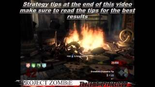 NEW #1 Kino Der Toten High Round Strategy Solo Or Co-op -* BEST Kino Strategy - Project Zombie
