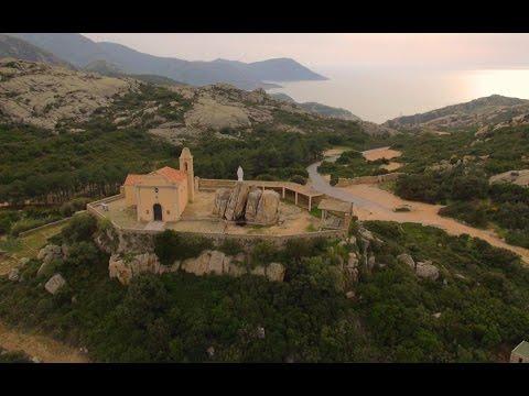 Notre Dame de la Serra - Calvi - Corse - Vue du Ciel Drone Expert