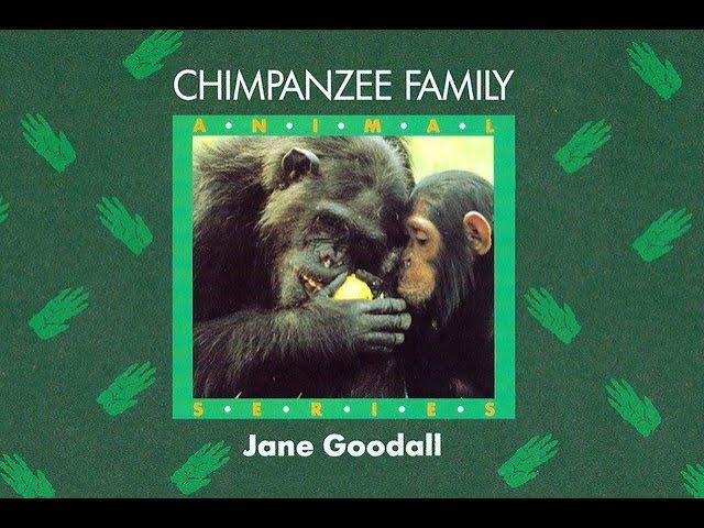 Jane Goodall narra cuentos para niños y niñas