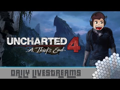 UNCHARTED 4: A Thief's End - Gameplay Live Stream - Uncharted 4 Lets Play
